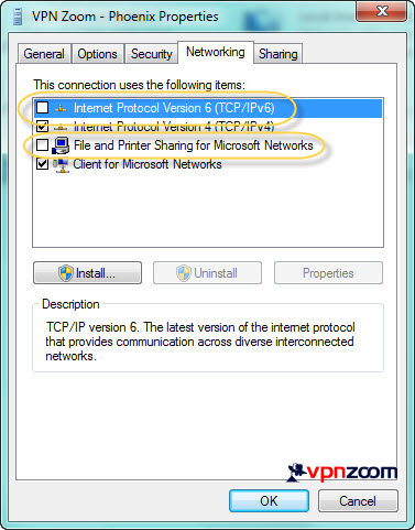 Windows 7 PPTP VPN Setup Step 15