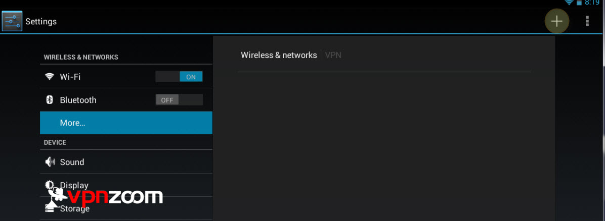 Android VPN PPTP Setup Step Four