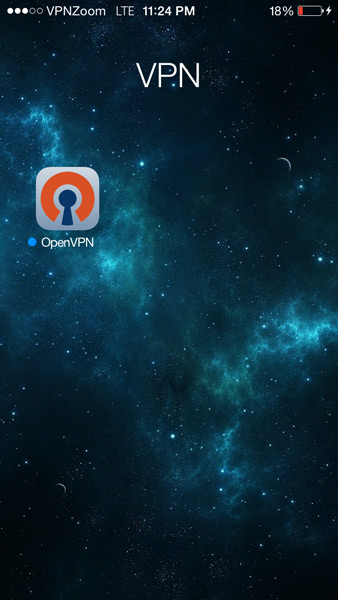 Apple IOS OpenVPN Setup Guide Step Two