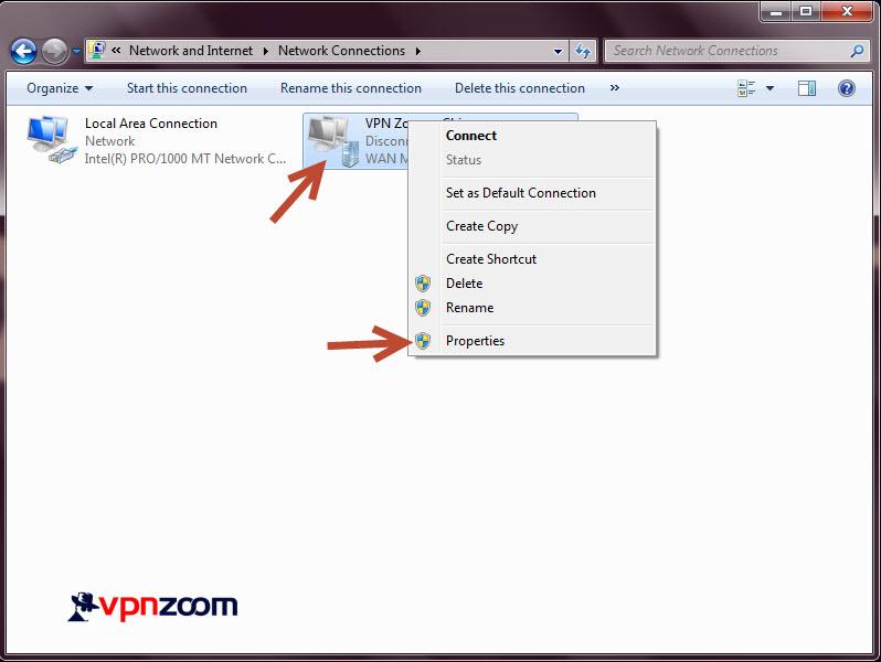 Windows 7 L2TP VPN Setup Step 11