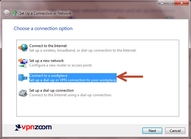 Windows 7 L2TP VPN Setup Step 5