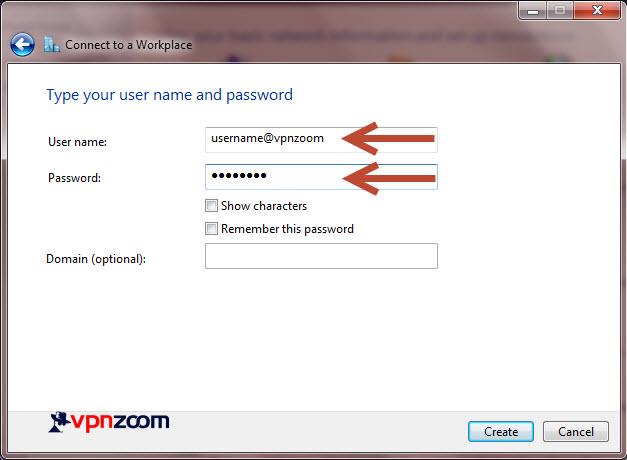 Windows 7 L2TP VPN Setup Step 8