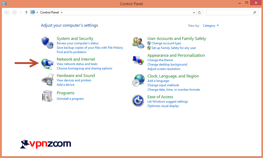 Windows 8 L2TP VPN Setup Guide Step 2
