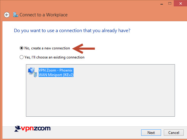 Windows 8 L2TP VPN Setup Guide Step 6